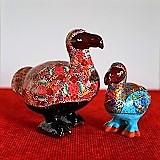 Mauritius, Różowy Dodo i Niebieski Dodo