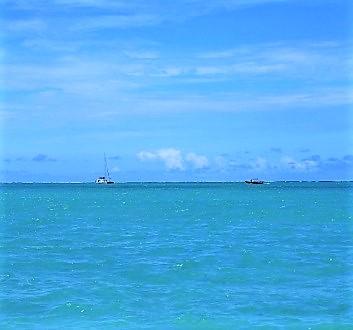 Africa, Mauritius, Île aux Cerfs