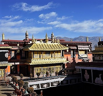 China, Tibet, Jokhang Temple