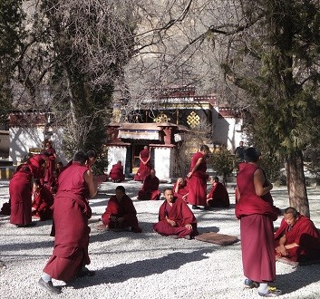 hina, Tibet, Sera Monastery