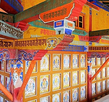 China, Tibet, Samye Monastery, Interior