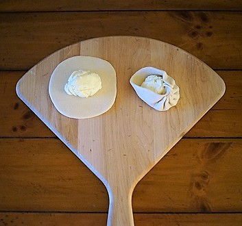 Making Cheese Momo