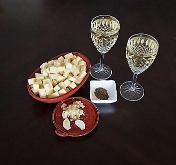 Vacherin Fribourgeois AOP Cheese, Fendant du Valais, Black Pepper, Garlic