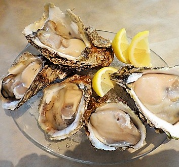Japan, Kyushu, Oysters
