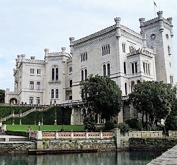 Italy, Miramare Castle