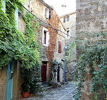 Croatia, Istria, Grožnjan