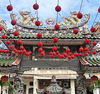 Malaysia, Penang, George Town, Hainan Temple