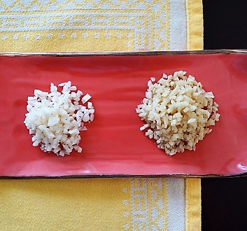 Minced Garlic and Ginger