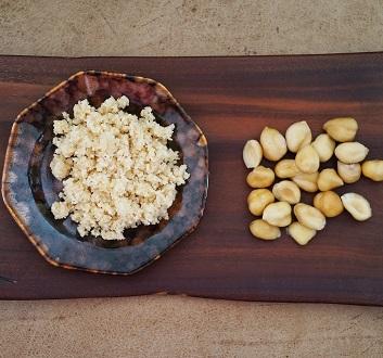 Grinded Hazelnuts