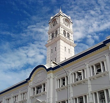 Malaysia, Penang, George Town, Colonial Architecture