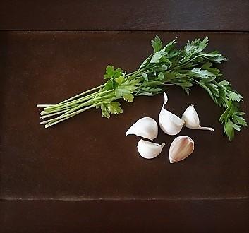 Parsley, Garlic