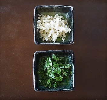 Chopped Garlic and Parsley