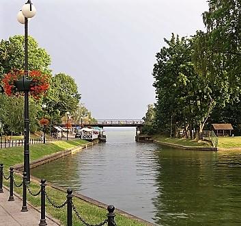 Poland, Giżycko, Łuczański Canal