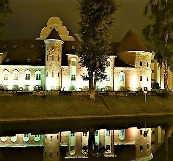 Poland, Masuria, Giżycko, St. Bruno Hotel