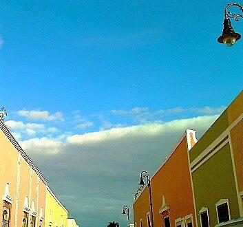 Mexico, Riviera Maya, Valladolid, Colonial Architecture