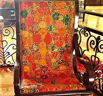 墨西哥, 里维埃拉玛雅, 彩色扶手椅