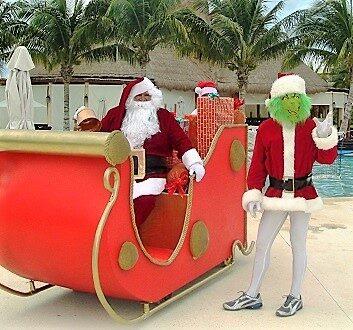 墨西哥, 里维埃拉玛雅, Secrets Maroma Beach Resort, 圣诞老人