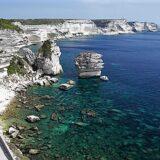 Francja, Korsyka, Bonifacio, Wapienne Klify