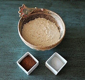 Flour, Cocoa, Baking Powder
