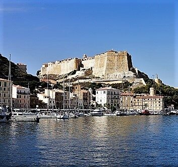 France, Corsica, Bonifacio