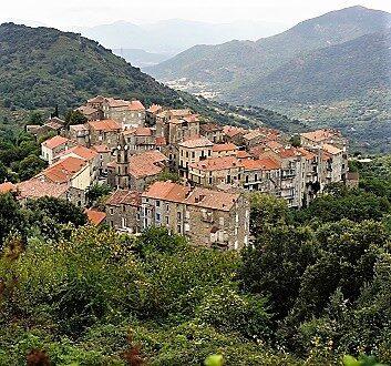 France, Corsica, Sainte-Lucie-de-Tallano