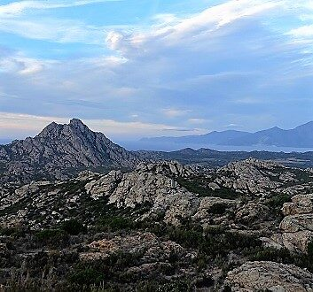 France, Corsica, Mountains