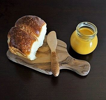 Lilikoi Butter with Brioche