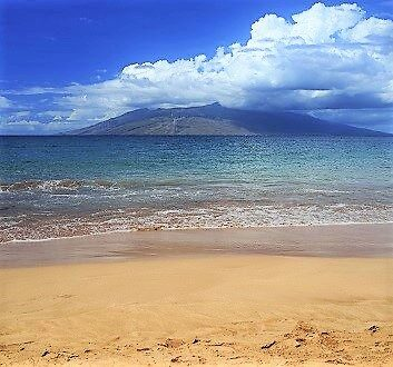 États-Unis, Hawaii, Maui, Plage de Wailea