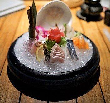USA, Hawaii, Maui, Morimoto Restaurant, Sashimi