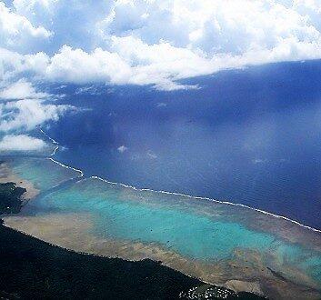 Fiji, Aerial View
