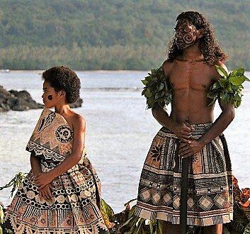 Fiji, Qamea Island, Qamea Resort and Spa, Wedding Ceremony