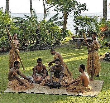 Fiji, Qamea Island, Qamea Resort and Spa, Kava Ceremony