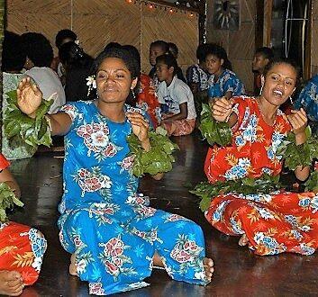 Fiji, Qamea Island, Qamea Resort and Spa, Fijian Meke