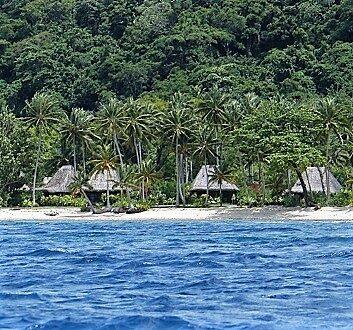 Fiji, Qamea Island, Qamea Resort and Spa