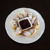 Germany, Bavaria, Kaiserschmarrn with Pomegranate Compote