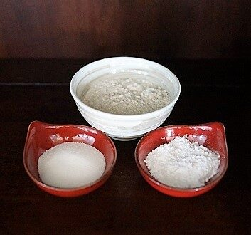Flour, Granulated and Powdered Sugar