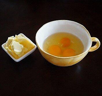 Butter, Eggs