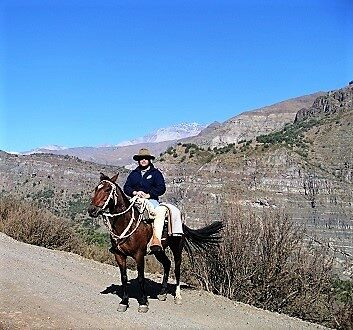 Chile, Andes Mountains, Horseback Riding