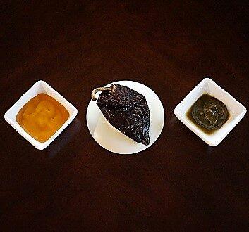 Aji Amarillo Paste, Dried Pasilla Pepper, Huacatay Paste