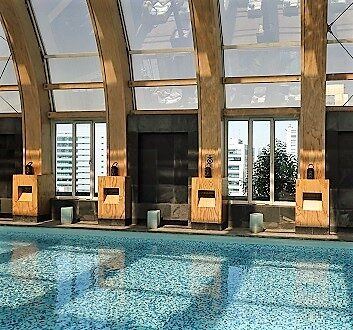 Chile, Santiago, The Ritz-Carlton, Santiago, Swimming Pool
