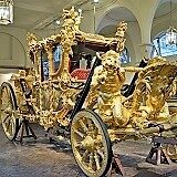Angleterre, Londres, Royal Miaule, Chariot d'Or