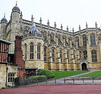 England, Windsor Castle, Saint George's Chapel