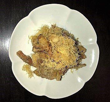 England, London, Hakkasan Restaurant, Golden Fried Soft Shell Crab
