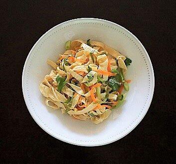 Japon, Salade Yuba