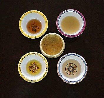 Olive Oil, Sesame Oil, White Soy Sauce, Yuzu, Mirin