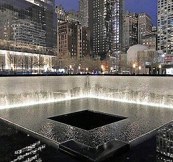USA, New York, One World Trade Center, 9/11 Memorial and Museum
