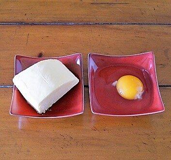 Butter, Egg