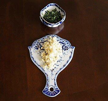 Garlic, Cilantro