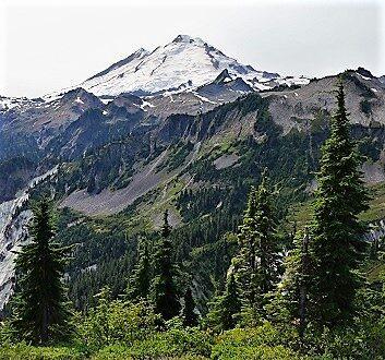 USA, Pacific Northwest, Mount Baker