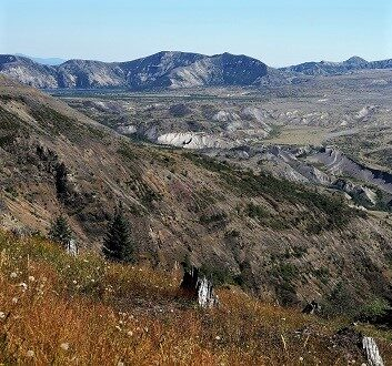 USA, Pacific Northwest, Mount St. Helens National Volcanic Monument